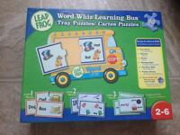 Leap frog learning bus