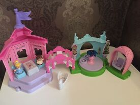Fisher price little people Cinderella doll set