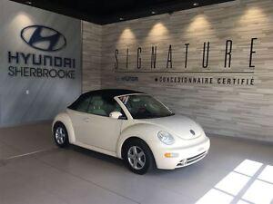 2004 Volkswagen New Beetle CUIR + SIÈGES CHAUFFANT + AIR CLIMATI