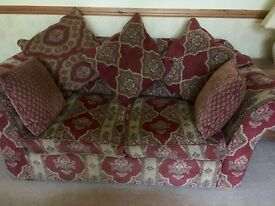 Beautiful Collins & Hayes Sofas 2 Seater & 3 Seater