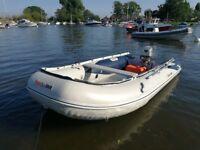 Hon Wave T40 Inflatable Boat Aluminium Floor