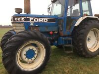 8210 Ford New Holland Tractor 1991 115hp
