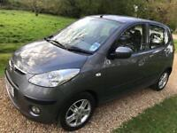 Hyundai i10 Comfort 1.2, 5 Doors, ONLY £30 tax , New MOT, ONLY 31K Mileage full Service History