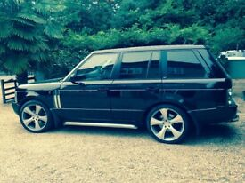 RANGE ROVER 3.0 TD6 VOGUE PROJECT KHAN FOR SALE £7950 ONO