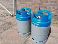 Spanish LPG Propane cylinders