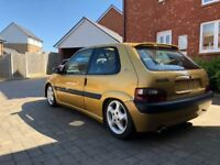 Track Day Car Saxo VTS full Roll Cage