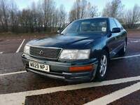 1995 LEXUS LS 400 4.0 LITRE V8 AUTOMATIC CLASSIC CAR IN PERFECT CONDITION £495