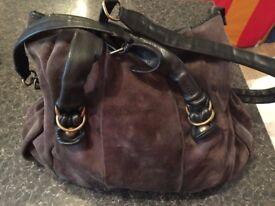 Big Bag Pigra ; ITALIAN HANDCRAFT in leather was £380 only £25!!!!! 40 x 45 cm