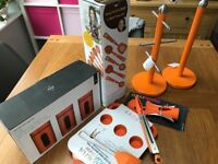 Bright Orange Kitchen set Brand new - never used, boxed and with tags