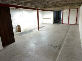 Large basement unit central Cardiff Bay