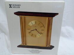 BRAND NEW Howard Miller 645-391 Carlton Table Clock (7338-1)