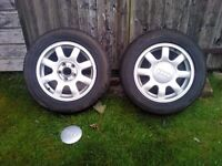 Audi A6 Alloys with 205x60x15 Tyres