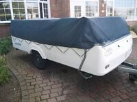2005 PENNINE FIESTA FOLDING CAMPER- PART EX FOR QUICK SALE trailer tent