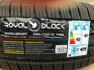 All Season 265/70R18 Set of Four Brand New  $440.00 on sale!!
