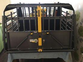 Safedog crash tested car crate. DOUBLE X LARGE.