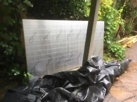 2400 x 1200 x 40 recticel eurothane gp insulation board + offcuts