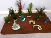 Aquarium fake plants