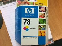 HP Ink Printer Cartridge #78 Tri Colour