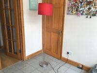 Tall floor lamp from Ikea-has a 2 metre switched power led-£10