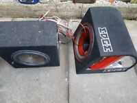 Red/Black Sub and Amp