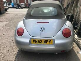 Vw beetle for sale 02-07 2.0 fsi Breaking For Spares