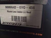 Mishimoto Mitsubishi Evo 4,5,6 Alloy Radiator - MMRAD-EVO-456 (new and boxed)
