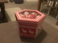 Christmas ball ball reindeer design