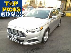 2013 Ford Fusion SE SEDAN, AUTOMATIC, POWER GROUP, ALLOY WHEELS,