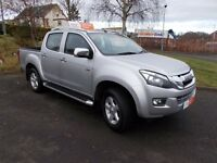 2013 ISUZU D-MAX UTAH PICKUP AUTOMATIC SILVER 73,250 miles +++1 OWNER +++++