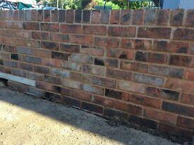 Reclaimed Barker & Briscoe Bricks - Beautifully Cleaned