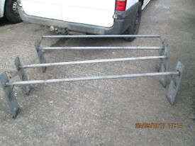 High Roof Van 3 piece Roof Rack suitable for High Roof Transit and other High Roof Vans