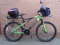 Apollo Gradient full suspension mountain bike