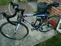 Trek road bike bicycle