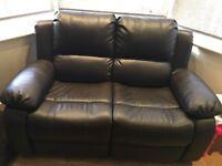 Faux leather sofa 2 &3 seater