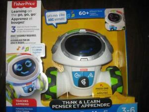 Fisher Price Think & Learn Teach n Tag Movi. Fun Moving Robot Game for Boy / Girl / Toddler Baby. Light up Play Button