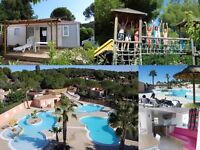 Mobil home renting in a South of France campsite