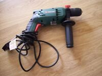 PARKSIDE GREEN ELECTRIC IMPACT DRILL (no tool bits)