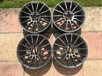 "Genuine 18"" Mercedes alloy wheels will fit VW"