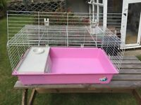 Large cage for rabbit or guinea pig etc as new
