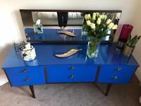 Sideboard/Dresser blue 1970's