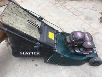 Lawn mower hayter hawk petrol