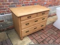 Victorian Pine Chest of Drawers for Sale