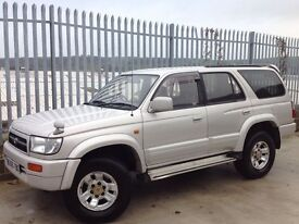 TOYOTA HILUX SURF 3.0 SSR-G AUTO 4X4 SILVER