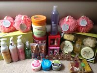 The Body Shop Job Lot, worth over £200!