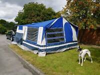IMMACULATE TRAILER TENT FOR SALE