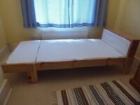 Childs Extendable Bed (IKEA Vikare)