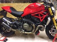 Ducati Monster 1200s - 2016 - 2200 miles