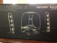 Harman/kardon soundstick III wired speakers