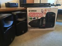 Yamaha STAGEPAS 600i All-in-One Portable PA System + x2 Speaker Stands