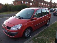 07 plate Renault scenic 7 seater automatic full leather seats